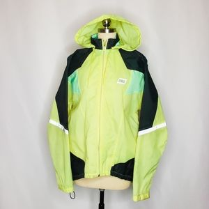 VTG Nike Neon Windbreaker Men's M Red Tag Yellow